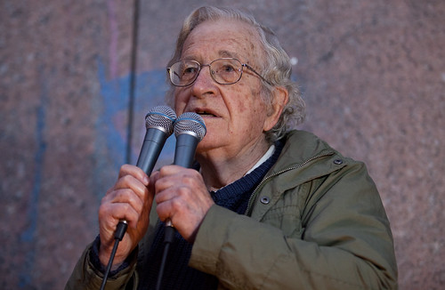 Noam Chomsky's Occupy reflects the debates inside the Occupy movement