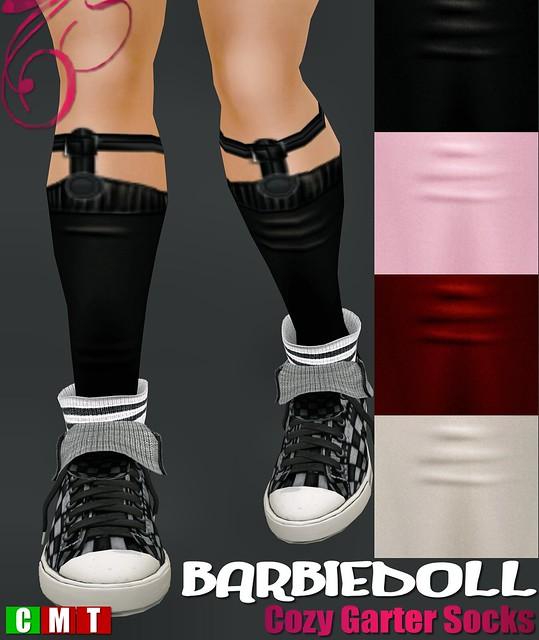 BARBIEDOLL Cozy Garter Socks
