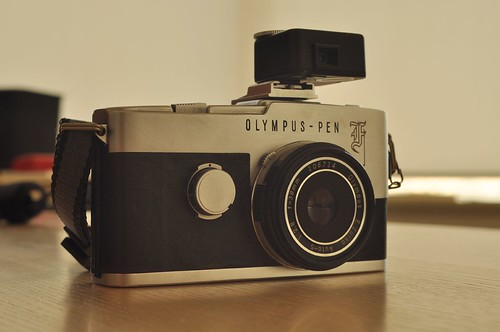 Olympus Pen F with pancake
