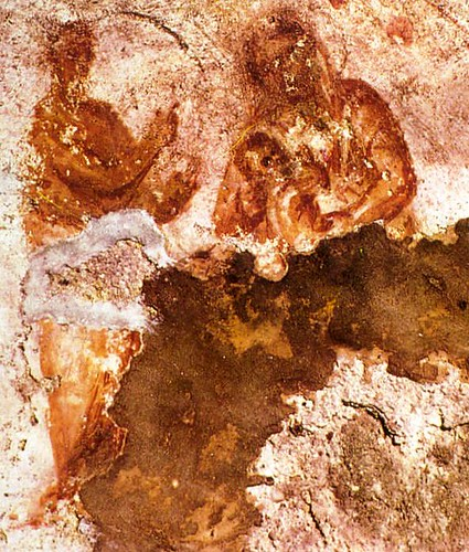 La primera imagen de la Virgen María en catacumba de Santa Priscila
