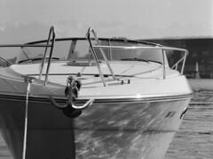 boat... (don_philippe) Tags: blackandwhite 120 mamiya film water analog mediumformat boot schweiz switzerland boat 645 wasser luzern super hp5 35 schwarzweiss lucerne ilford 150mm mittelformat mamiyasekor