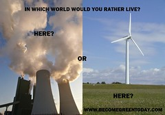 In Which World Would Your Rather Live? (LuisFPR) Tags: green environment greenelectricity energyproviders greenerenergy becomegreen switchsaferelectricity switchenergyproviders