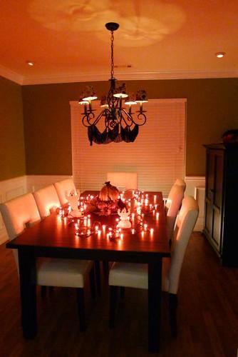 Cara's Dining Room Halloween