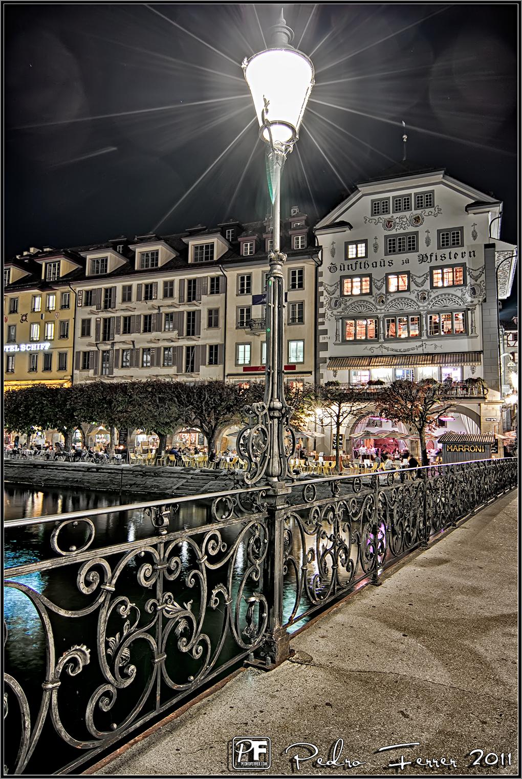 Suiza - Pueblos con encanto - Lucerna la nuit