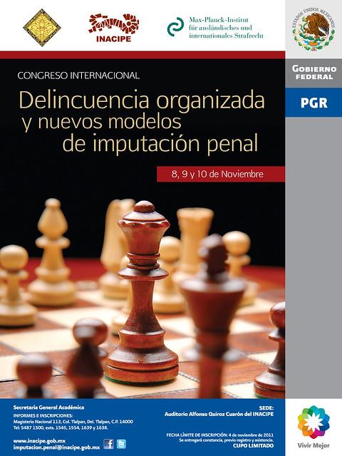 Congreso Internacional: Delincuencia organizada y nuevos modelos de imputación penal