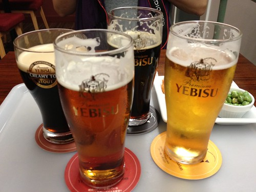 The Yebisu line-up