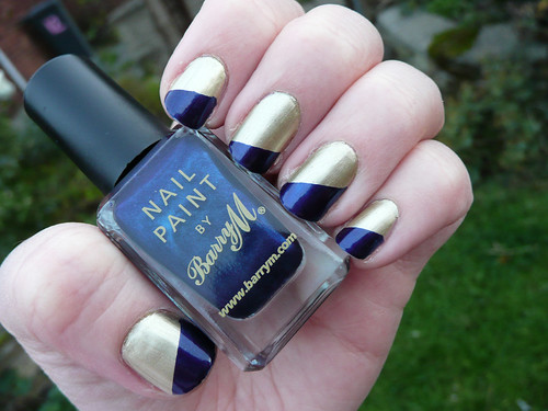 gold blue diagonal french 1