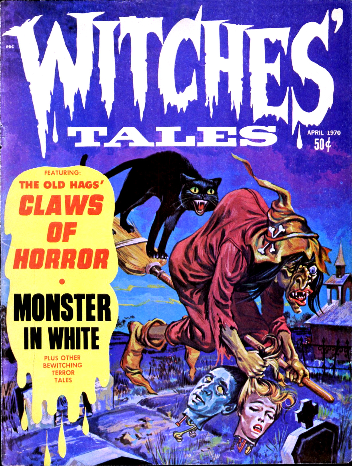 Witches' Tales Vol. 2 #2  (Eerie Publications 1970)