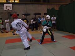 UCD TKD vs Lau Gar - UCD Sports Centre (October 2011) (irlLordy) Tags: ireland dublin club paul october spar tkd ucd kickboxing sportscentre laugar 2011