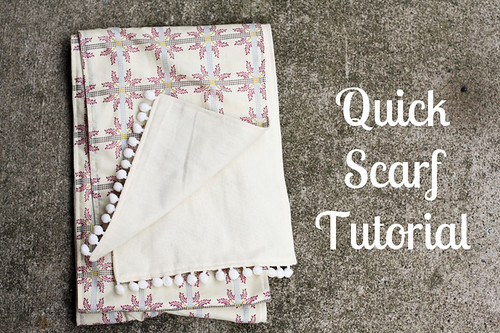 Quick Scarf Tutorial by jenib320