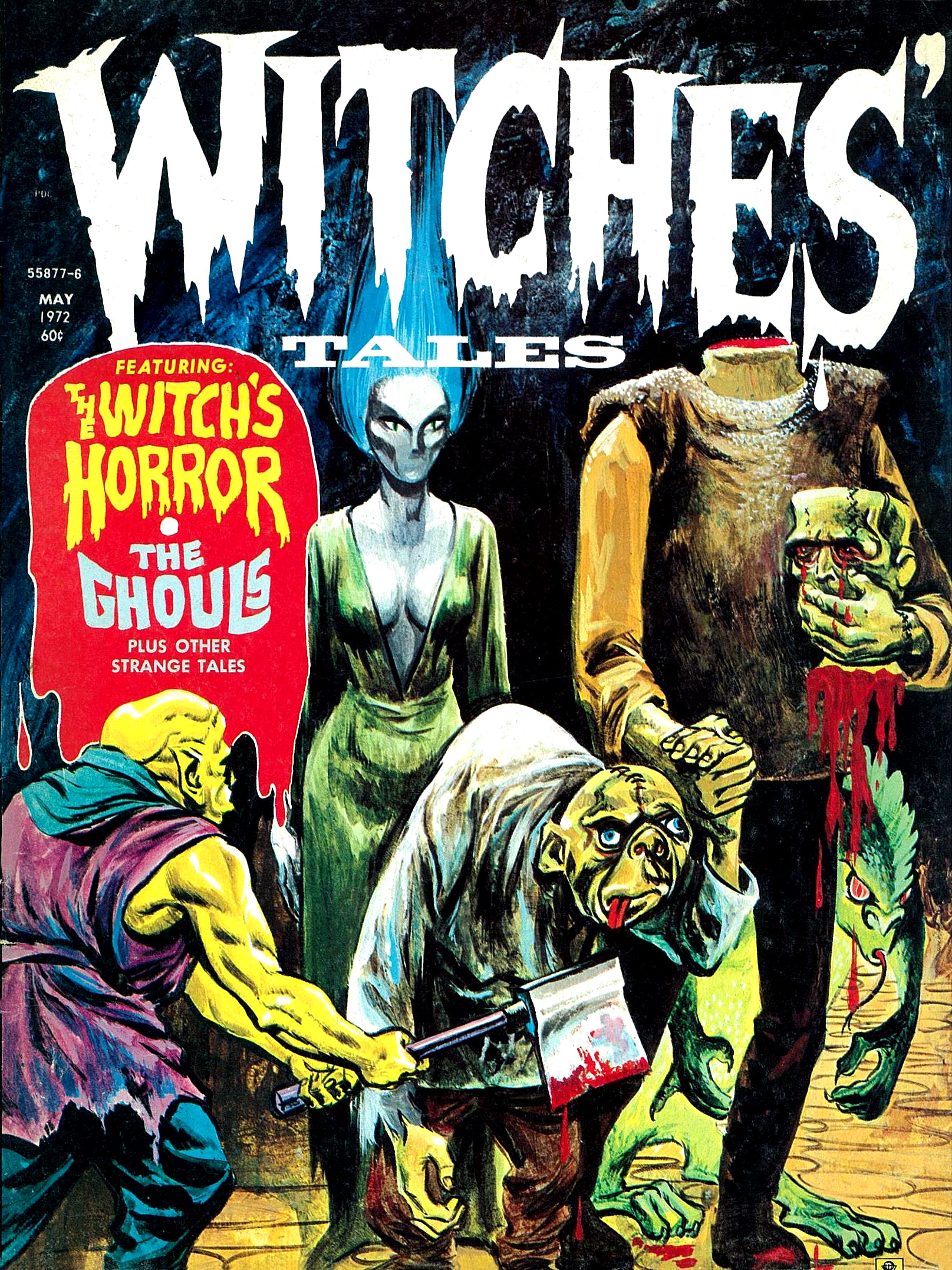 Witches' Tales  Vol. 4 #3 (Eerie Publications 1972)
