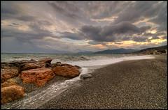 Pietra ligure - Sunset (Gottry) Tags: sunset sea italy panorama landscape italia tramonto mare liguria wide tokina pietra ligure 1116