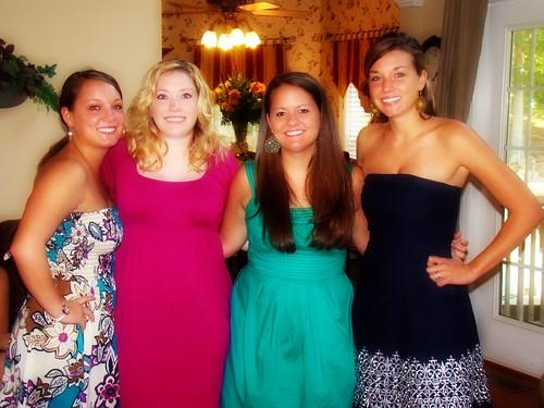 Ashton, Haley, Amber, Me