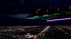 Stratosphere & X-Stream (albertobastos) Tags: stream torre mirador stratosphere atraccion nevadacostaoeste2011estadosunidosamerica