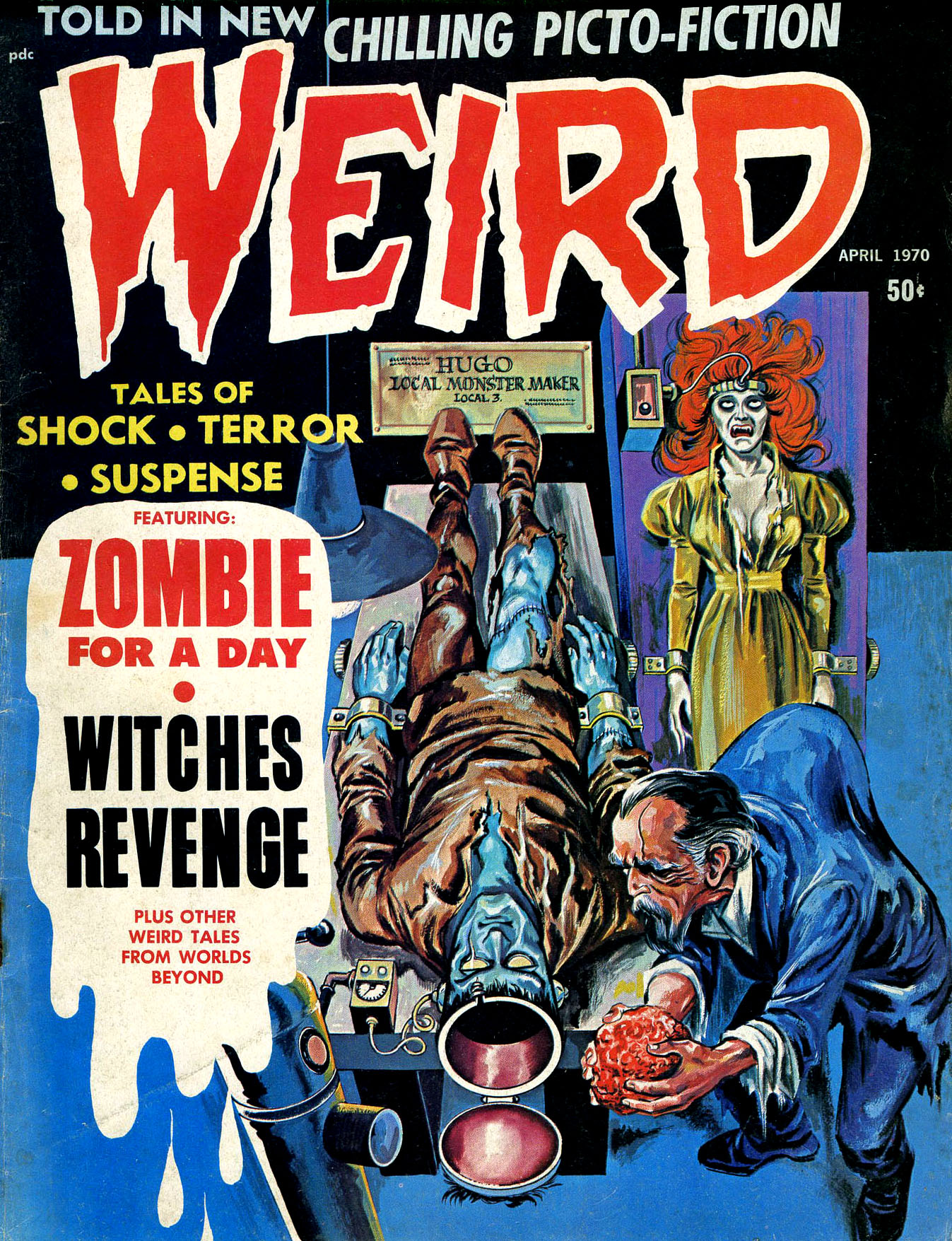 Weird Vol. 04 #2 (Eerie Publications, 1970)