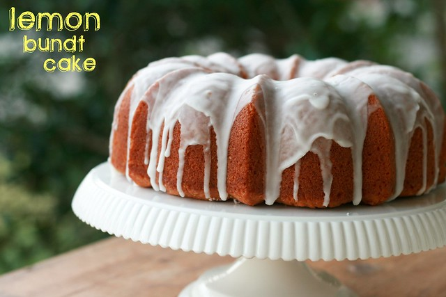 Lemon Bundt Cake - I Like Big Bundts 2011