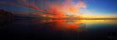 Black's Beach Sunset (kingdomany) Tags: ocean sunset red sea sky color beach photography seaside nikon flickr pacific dusk blacks seashore d90