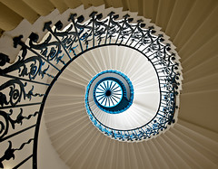Tulip Staircase London (vulture labs) Tags: uk travel england house building london art architecture spiral photography nikon europe interior united greenwich fine kingdom queens staircase tulip londres londra londen upshot d700 1424mm vulturelabs