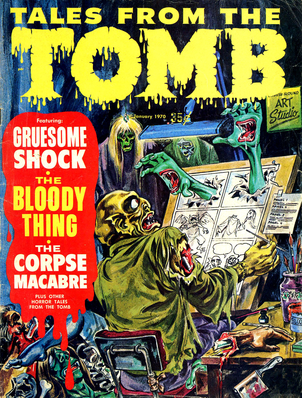Tales from the Tomb - Vol. 2 #1 (Eerie Publications, 1970)