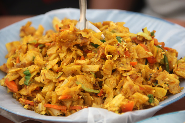 Cheese Kottu - Sri Lanka