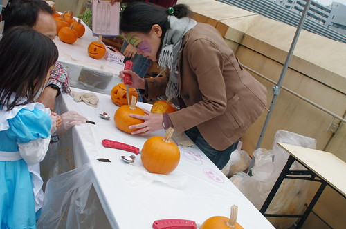pumpkin carving lesson