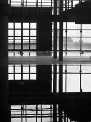 asymmetry of beauty (estella7272) Tags: windows bw water piscina explore acqua riflessi catania finestre terapia vetrate terapy interestingnessoct2011