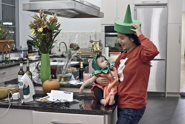 Jess&Caya-2011万圣节