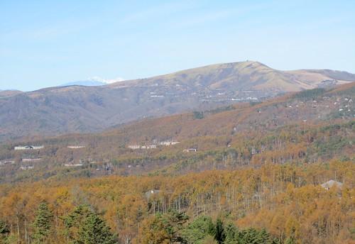 蓼科高原と北アルプス 2011年11月1日9:40 by Poran111