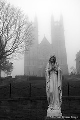 Our Lady in the Mist (Herman Bresser:) Tags: church guelph ourlady