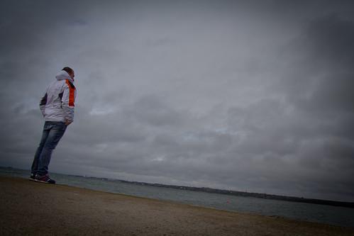 Tallinn, ammirando il mar baltico