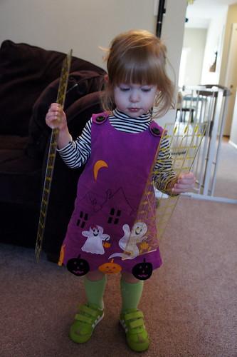 Caitlyn on Halloween