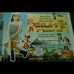 Love Bela's Invitation for her party at Hospicio de San Jose
