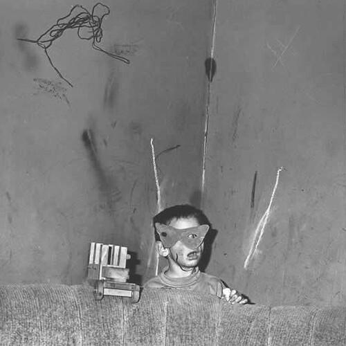 Roger Ballen, Shadow Chamber, Skew Mask, 2001
