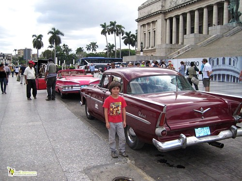 Classic Car in Havana Centro - Center Park