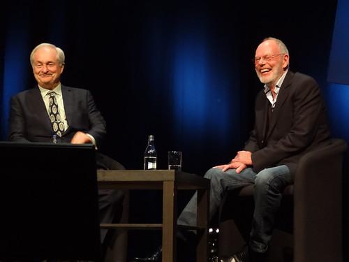 Paul Gambaccini and Bob Harris