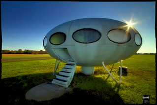 Spaceship House - Delaware
