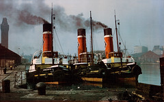 Awaiting orders... (Darren B. Hillman) Tags: liverpool ships steam explore birkenhead tugs rivermersey greygarth alfredbasin reatowing yorkgarth carlgarth
