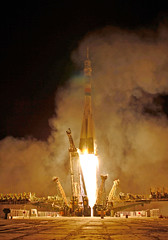 2010... Soyuz liftoff! (x-ray delta one) Tags: sf mars 1955 illustration vintage mercury space astronaut nasa 1950s skylab scifi lifemagazine rocket sciencefiction 1960s outerspace tomorrowland apollo gemini mir cosmonaut vostok thefuture aerospace cccp saturnv soyuz worldoftomorrow spacerace spaceexploration magazineillustration maninspace robertmccall
