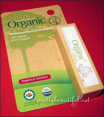 Menthoalatum Organic Certified Lipbalm - Raspberry & Strawberry