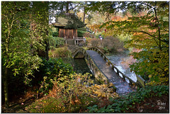 The Japanese Pavilion (Maria-H) Tags: pavilion japanese garden tatton park autumn almondeye bridge reflection england uk panasonic gh2 dmcgh2 14140 cheshire