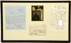 134. NC Civil War Letter & Image
