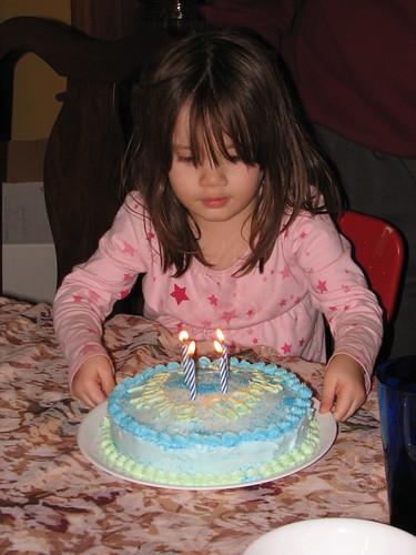 my blue cake!
