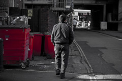 The Streets (darrenwinch) Tags: street man freedom alone walk tunnel grittiness