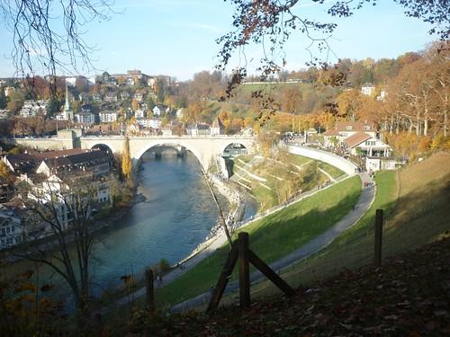 Promenade dominicale à Berne