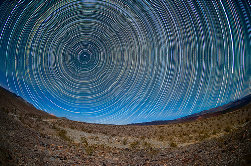 Saline Valley Star Circles by Harold Davis