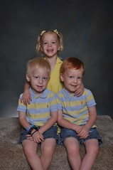 11-kdtgov2 119 (drjeeeol) Tags: pictures school sweet brothers sister katie siblings charlie will multiples daycare fav triplets toddlers schoolpictures 2011 36monthsold