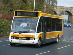 Shuttle Buses CU06AWG (walkey101) Tags: buses transport solo shuttle ensign optare veoila cu06awg