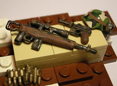 Apoc weapon, rifle??? And C96 (MR. Jens) Tags: world war lego wwiii apocalypse nuke fallout apoc brickarms nukewar