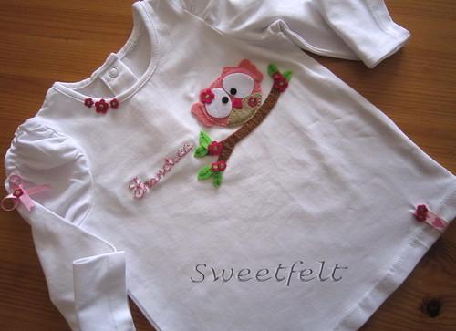 ♥♥♥  Para a Francisca ... by sweetfelt \ ideias em feltro