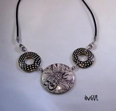 Kette für Leila (Ingul-design) Tags: necklace handmade unique polymerclay fimo kato premo ketten handarbeit unikate ingul